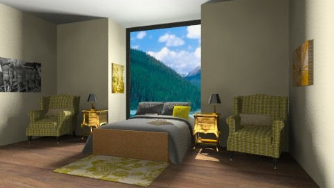 Classy gold - Classic - Bedroom - by iamanna1234