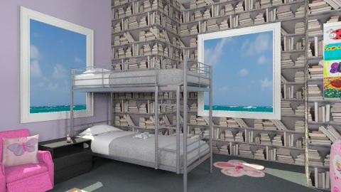 9 yr old girls bedroom - Eclectic - Kids room  - by Minnie12390