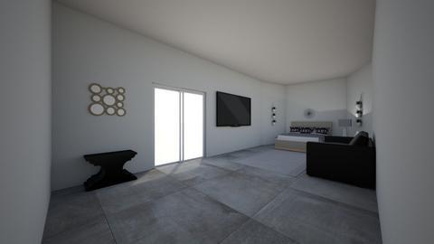 Modern - Bedroom - by RosieDraws