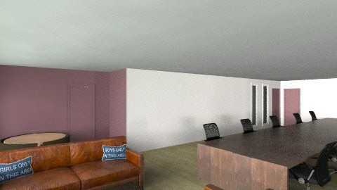 Bonhill 6th Floor eating_ - Rustic - Office  - by TV Renders