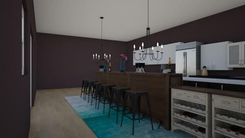 3D Rooms - Kitchen  - by  Black2001