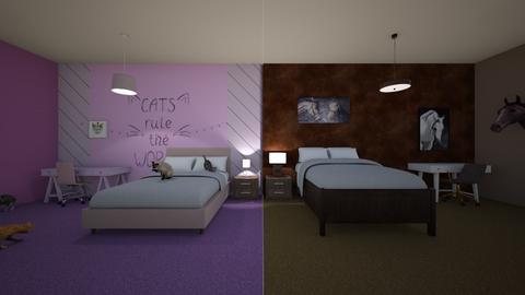 spilt2 SierraJohnson2666 - Bedroom  - by Hamzah luvs cats