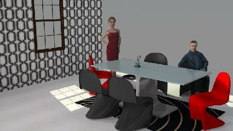 Dining Trial - Dining Room  - by marsambo