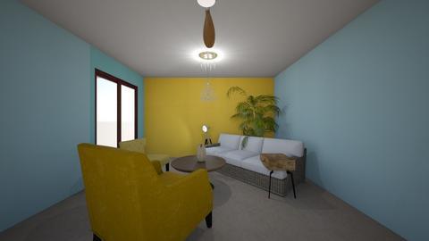 Debra Living Room - Living room - by pamallama
