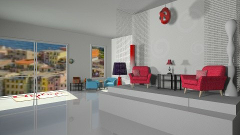 Mod - Retro - Living room  - by HGranger2