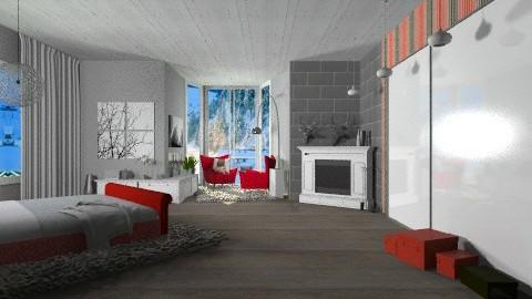 8745645 - Rustic - Bedroom  - by celavia
