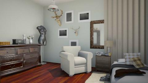 new room  - Bedroom - by leelowells1994
