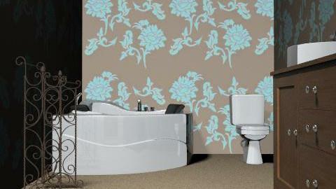 barthroom - Glamour - Bathroom  - by tids123