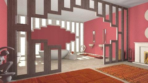 Stone Bathroom - Eclectic - Bathroom  - by giulygi