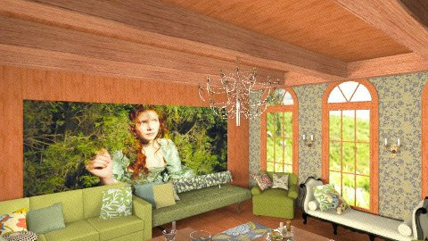 Victoria room - Classic - Living room  - by rokhi