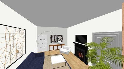 Livingroom option 1 - Modern - Living room  - by nietouriz