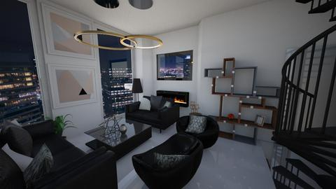 living room 5 - Modern - Living room - by Domenica Molina