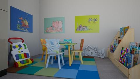 kids area family lounge - by clairelist07