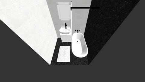 1 feladat - Modern - Bathroom  - by Galnoe