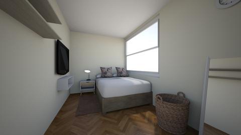 Dormitorio - Bedroom  - by ale_quebar