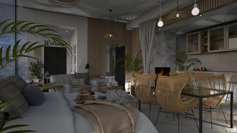 Bohemian Apartment - by KittyKat28