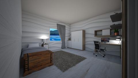 teenage bedroom - Bedroom  - by RhodriSimpson13
