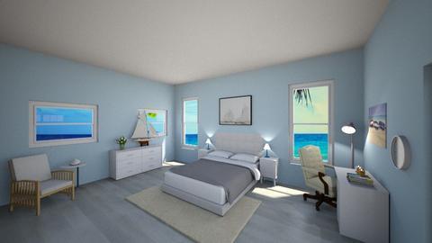 bedroom beach - Kids room  - by regnery23