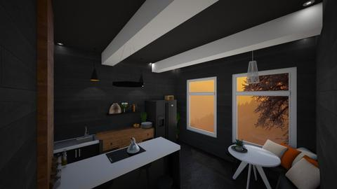 Black Madness - Kitchen - by NonsenseThings