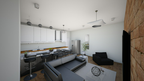 casa me1qwmm - Living room - by Araujo