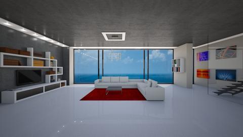 Beach House - Modern - Living room  - by sfurkan