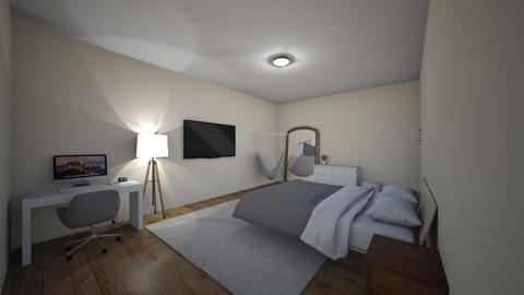 1st design - Bedroom  - by ItsAlisa