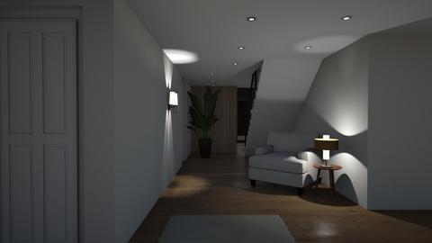 CoHousing 2nd floor - Living room  - by Sadiesct