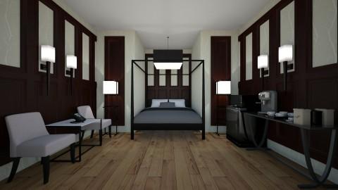 Hotel room - by Katiewaldo7