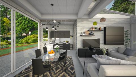 M_ Abigail - Modern - Living room  - by milyca8