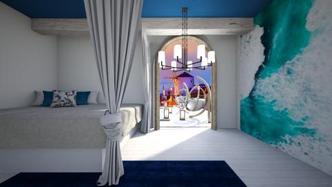 Greece room - Modern - Bedroom  - by Agamanta