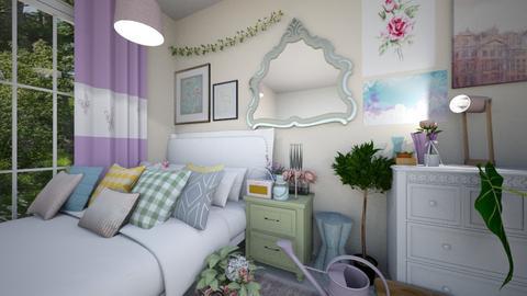 danish pastel - Bedroom  - by ampluliina