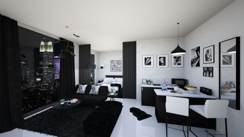 Masculine Apartement - Masculine - by karisahsalim
