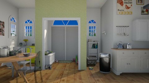 kitchen area - Country - Kitchen  - by livi rangz