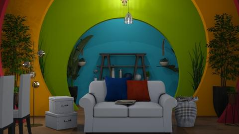 Color Living Room - by wijeshinghe