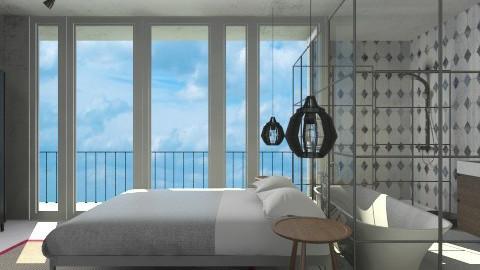 Minimalist Bedroom Suite - Modern - Bedroom  - by 3rdfloor