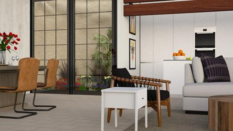 Open Environment - Rustic - Dining room  - by millerfam