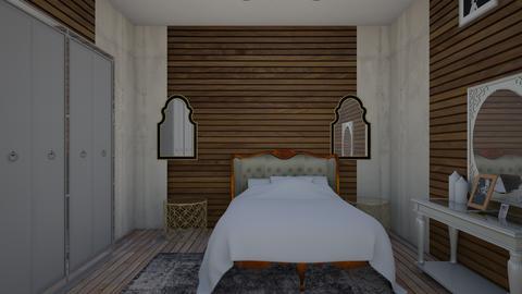 Rustic Bedroom            - Vintage - Bedroom  - by artsy_naturelover