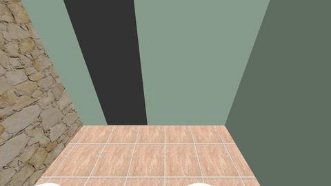 CLEAR FLOOR tile V - Bathroom  - by irerhino