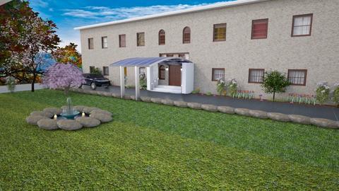 Mansion Portico Ideas - Modern - Garden  - by alonatech_2nd