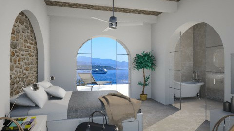 Hotel room in Mediterrane - Bedroom  - by XValkhan
