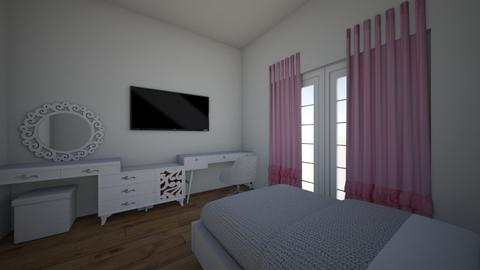 robert house - Bedroom - by maria fer