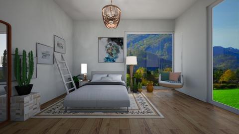 Summer - Modern - Bedroom - by CitrusSunrise