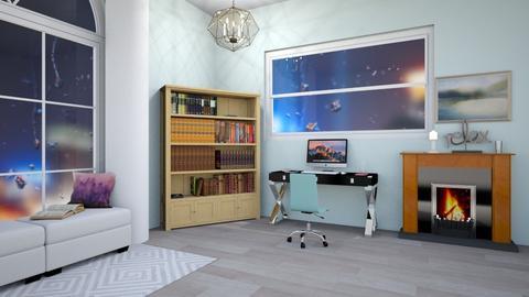 Stormy Office - Modern - Office  - by V A N N Y