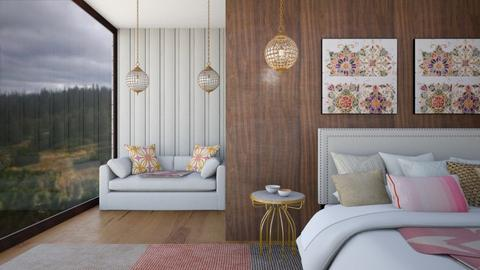 soft lines - Bedroom  - by Ulcia