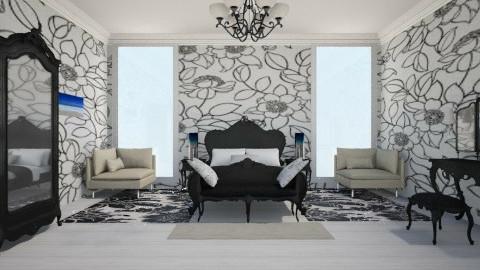 classic badroom - Classic - Bedroom  - by Karine Hakobayan