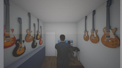 Muziekhok 5 - Modern - Office  - by Winmau