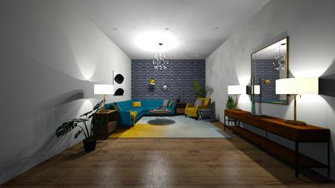 Living room - Retro - Living room - by briaredwards616