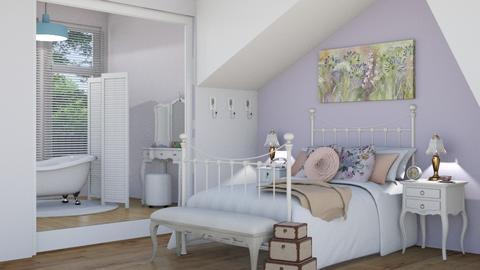 wildflower room - Bedroom - by blackdaisies