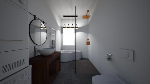 Badezimmer_AM Corner - Bathroom  - by Mathias89