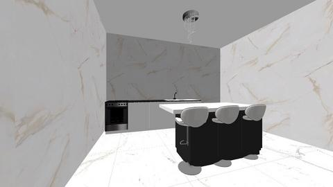 marble kitchen - Kitchen  - by cody09